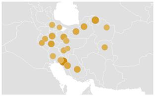 قالیباف-بررسی تغییر روند جستجوی نام نامزدهای ریاست جمهوری
