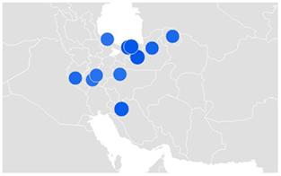 میرسلیم-بررسی تغییر روند جستجوی نام کاندیداهای ریاست