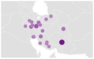 روحانی-بررسی تغییر روند جستجوی نام نامزدهای ریاست جمهوری