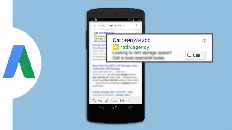 آموزش رایگان اضافه کردن شماره تلفن ایران در تبلیغات گوگل ادوردز - روش دوم (فقط در ورژن قدیمی گوگل)