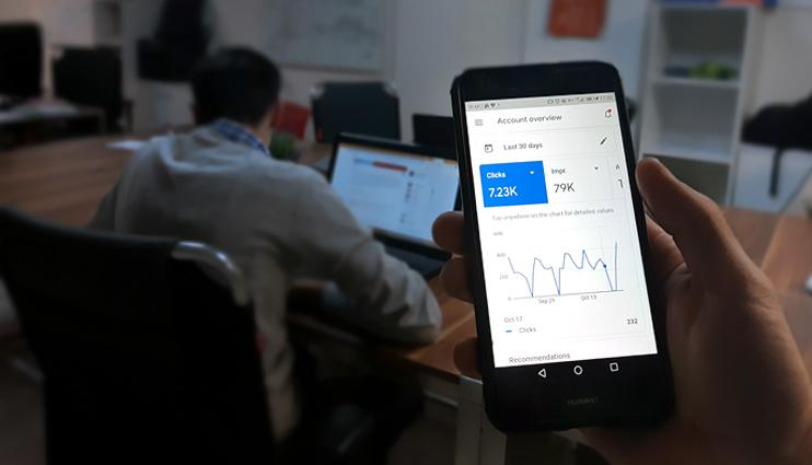 اپ گوگل ادز - google ads application